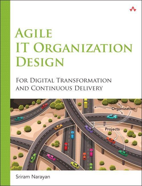 Agile It Organization Design Digital Transformation Agile Management Books