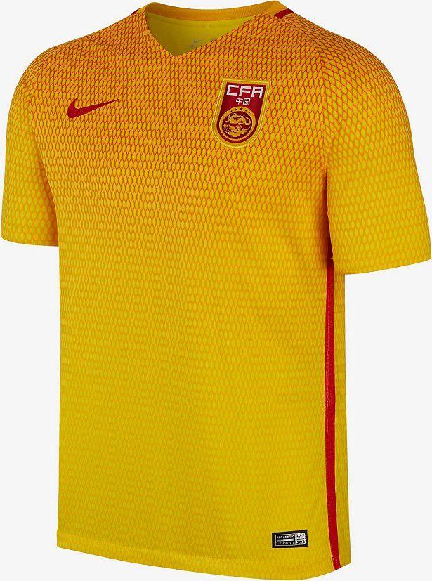 24015f46bd4c3 Nike divulga as novas camisas da China - Show de Camisas