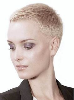 15 Super Short Haircuts For A Modern And Unique Look Super Short Haircuts Very Short Haircuts Really Short Hair