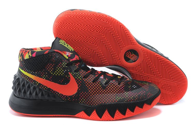 NIKE KYRIE 1 BLACK ORANGE GREEN 705277 016  119  35630bf1a422