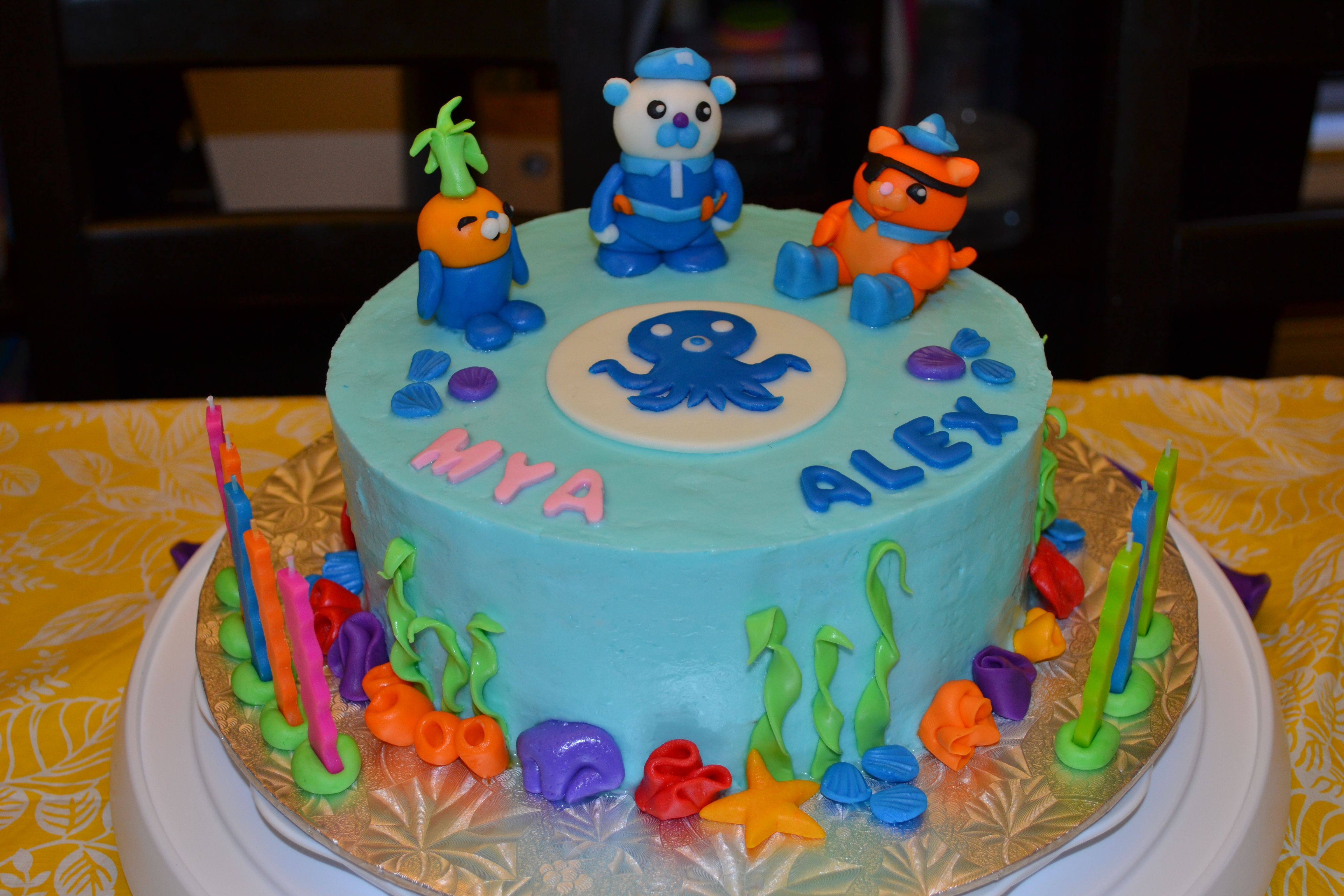 Octonauts Cake | Octonauts cake, Octonauts party
