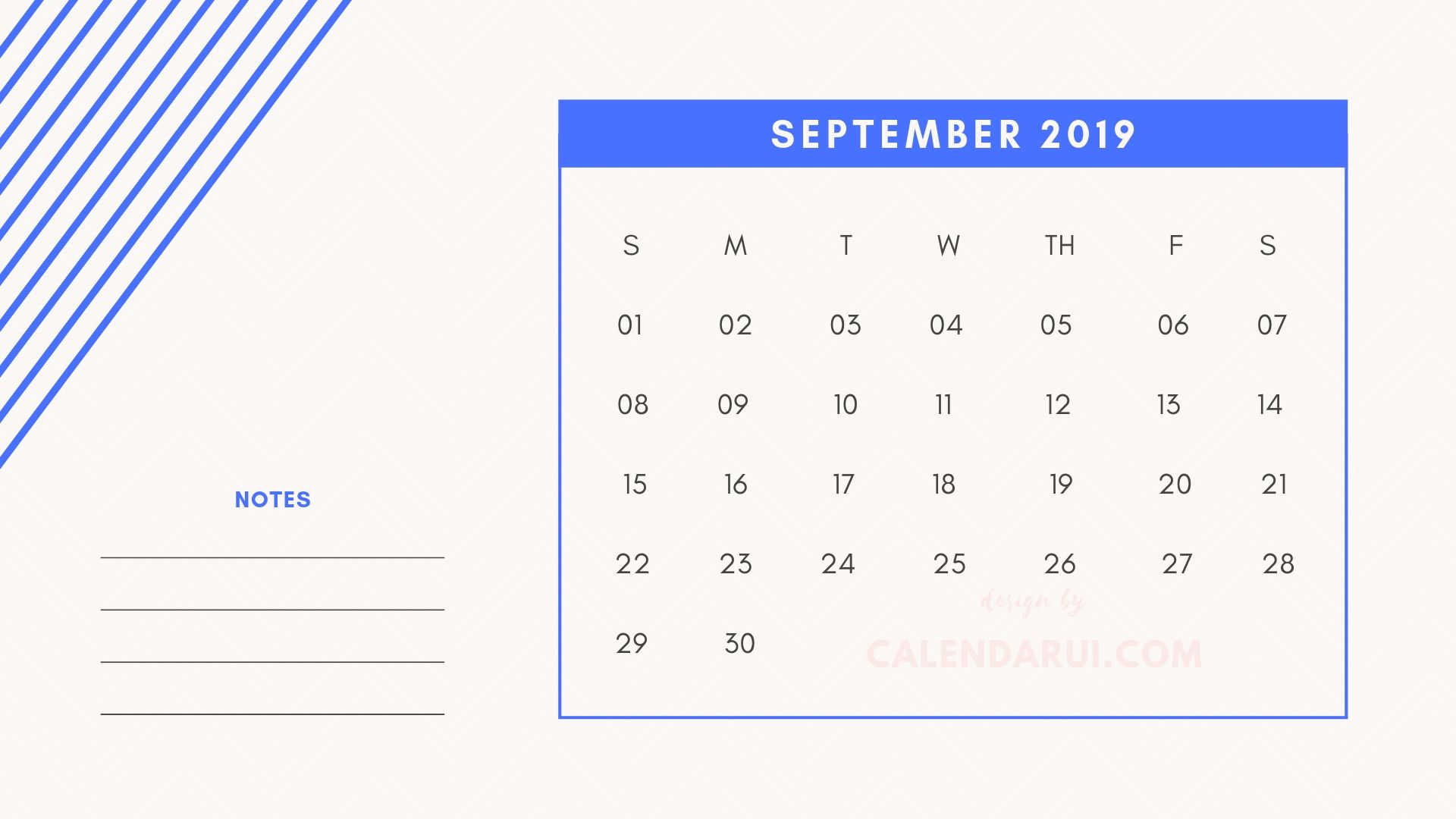 Get Best Printable Mini Calendar Template 2019 From Calendar