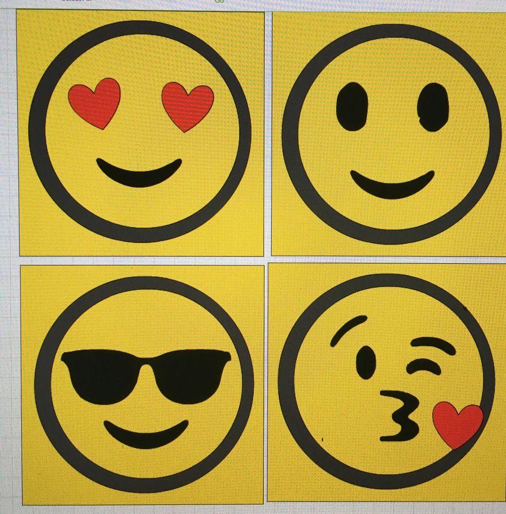 Emoji Wall Art | Emoji faces, Teenager rooms and Emoji