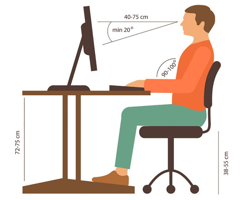 If You Are Taller Or Shorter Than Average Will Want To Consider Chair Height Desk Seat Depth Back Rests And Foot Stools
