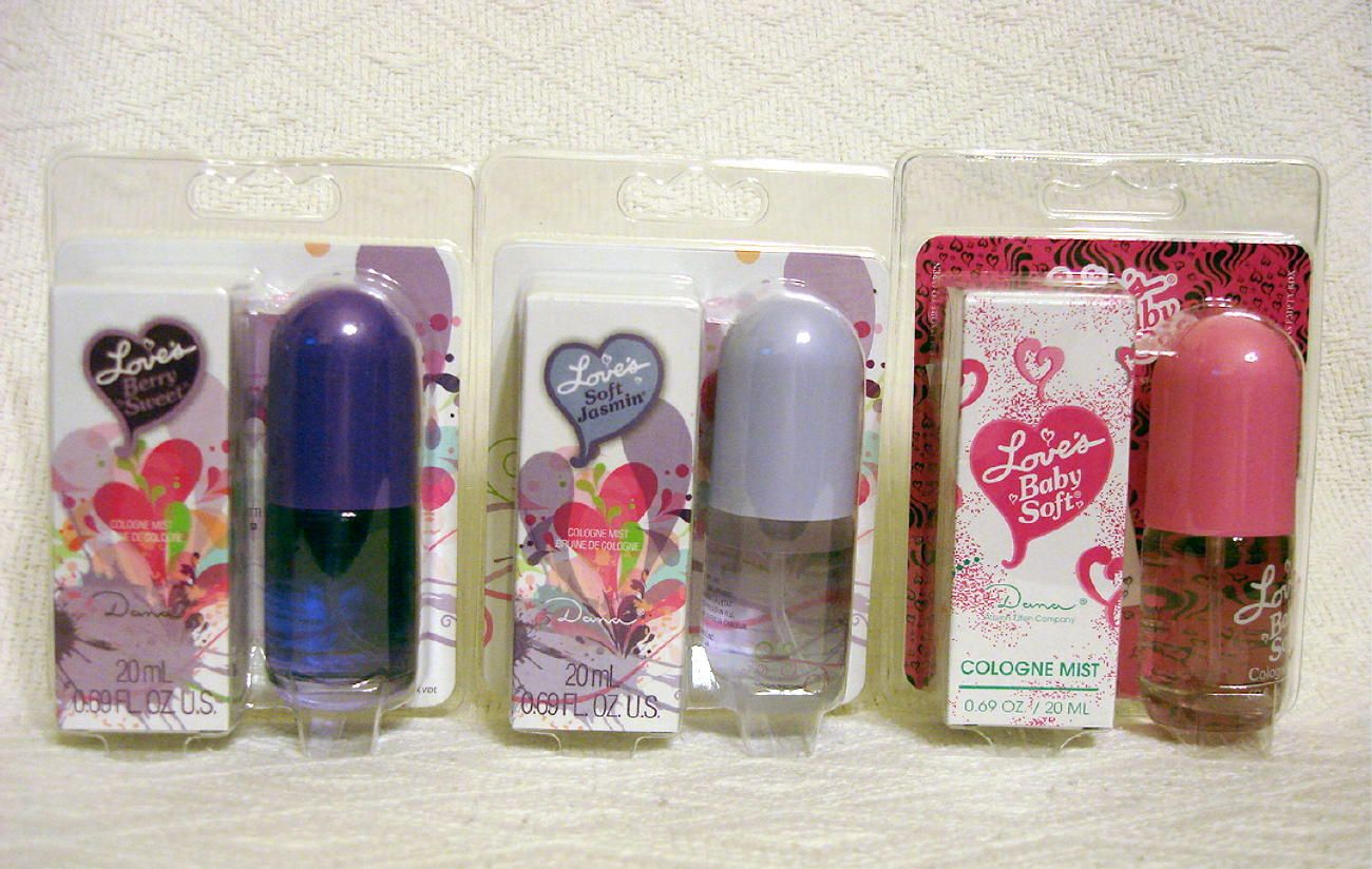 Loves Baby Soft Berry Sweet Soft Jasmin Set Cologne Mist