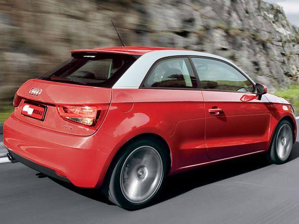 Traseira do novo compacto Audi A1 Sport