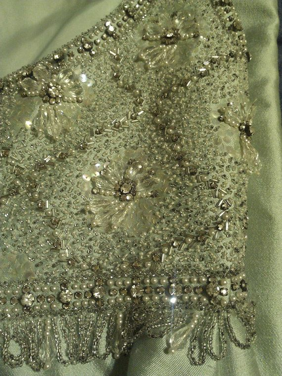 Vintage 1950's Victoria Royal LTD Hand Beaded by JujusCrafts, $250.00