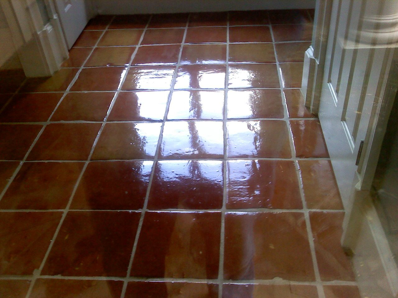 Saltillo restoration looks like mexican tile walk this way saltillo restoration looks like mexican tile dailygadgetfo Image collections