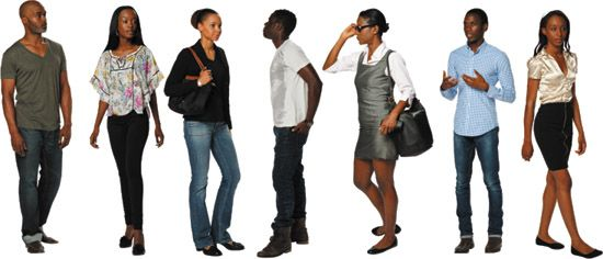 Dosch Design Dosch 2d Viz Images People African American Casual People Cutout People Png American Casual