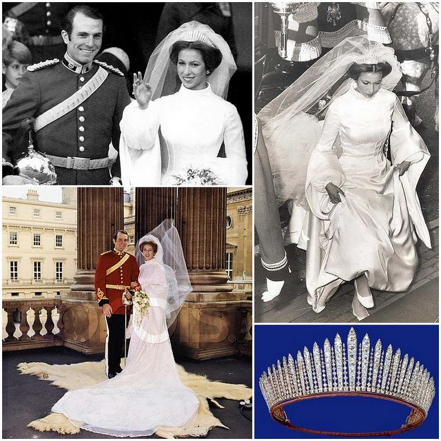 HRH Princess Anne\'s Wedding to Mark Phillips | Ann, Princess and ...