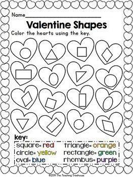 valentine 2d shape puzzles pre k k ideas resources valentines day activities valentine. Black Bedroom Furniture Sets. Home Design Ideas