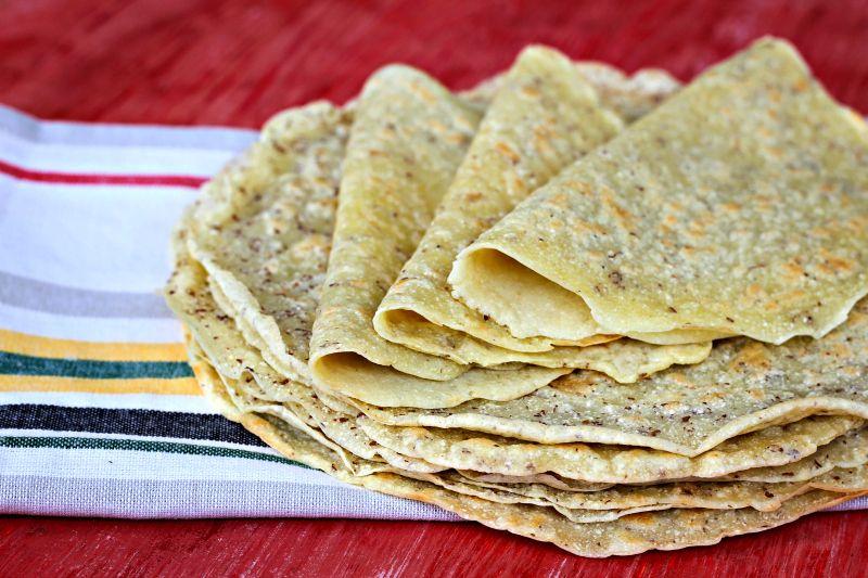 Coconut flour tortillas gluten free dairy free grain