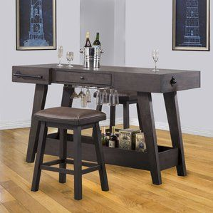 Lexington Series Kitchen Island Set fice Furniture