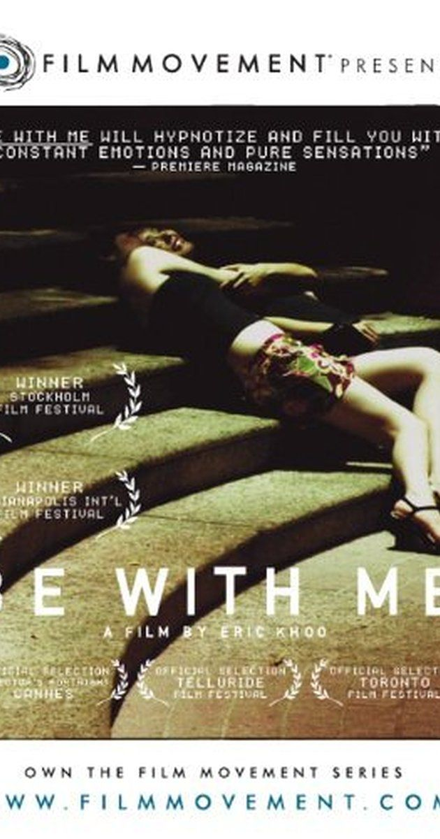 """Directed by Eric Khoo.  With Theresa Poh Lin Chan, Chiew Sung Ching, Lawrence Yong, Leong Kooi Eng. """"Be with me"""" consists of three stories of love vs. solitude : 1)An aging, lonesome shopkeeper doesn't believe in life any more since his wife died. But he is saved from desperation by reading an autobiographical book and meeting its author, a deaf and blind lady of his own age. 2)Fatty, a security guard in his fifties, lives for two things : good food and love for a pretty executi..."""