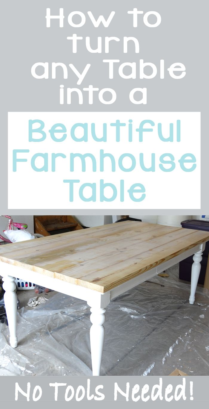 Beat up table turned beautiful farmhouse table farmhouse table beat up table turned beautiful farmhouse table geotapseo Image collections