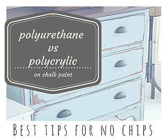 Big Mistake Polyurethane Over Chalk Paint Answered Team Healthy Mom Chalk Paint Wax Chalk Paint Kitchen Cabinets Sealing Chalk Paint