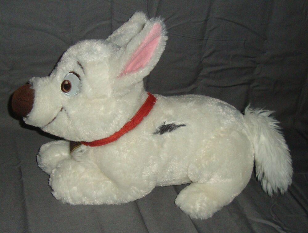 Disney Bolt Puppy Dog Plush Stuffed Animal Plushie Toy No Seam Tags Disney Plush Stuffed Animals Dogs And Puppies Animals