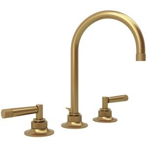 Rohl RMB2019LMFB2 Graceline 8\'\' Widespread Bathroom Faucet - French ...