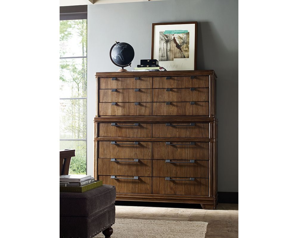 The sixdrawer master chest deck and dresser are literally made for
