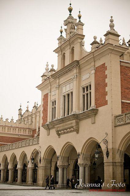 edificio de los Paños, Main Square, Cracovia Polonia.