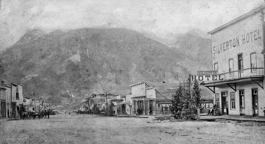 Silverton Colorado In 1883 Colorado Towns Silverton Colorado Colorado