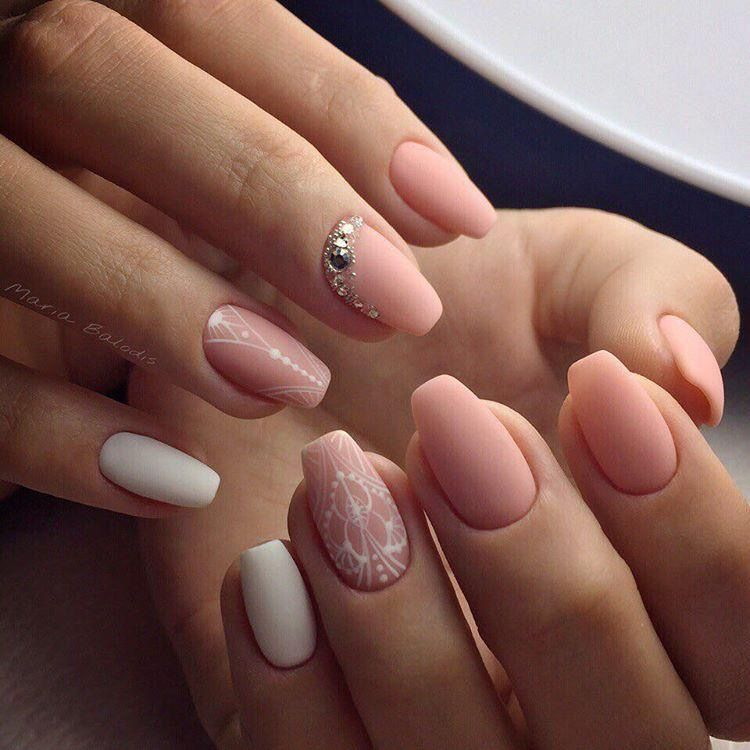 Pin by Alya on Nails | Pinterest | Bright nails, Mani pedi and Pink ...
