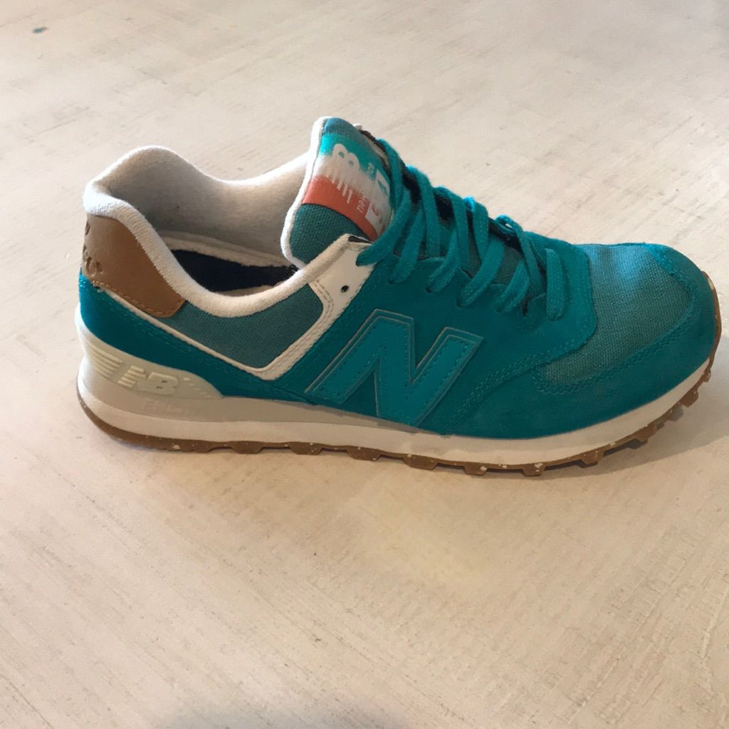 new balance 574 bleu turquoise