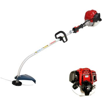 Shoulder Grass Trimmer with Mitsubishi TLE20 engine - Please visit our website at http://www.trimmer.com.tw/ for more information and quotation.