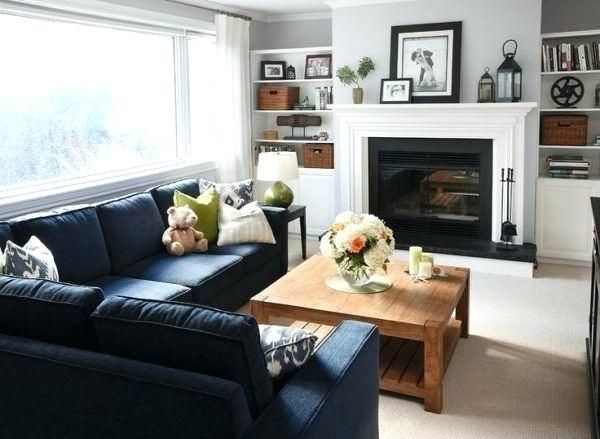 Blue Couch Living Room Living Room With Blue Sofa The Best Navy Couches Ideas On Coma Stud Sectional Sofas Living Room Blue Couch Living Room Livingroom Layout