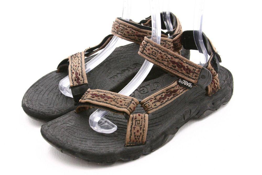 fcb79535ad43 TEVA mens shoes Size 11 brown river sport water sandals EU 10  Teva  Sport   Sandals  ebay  faunab