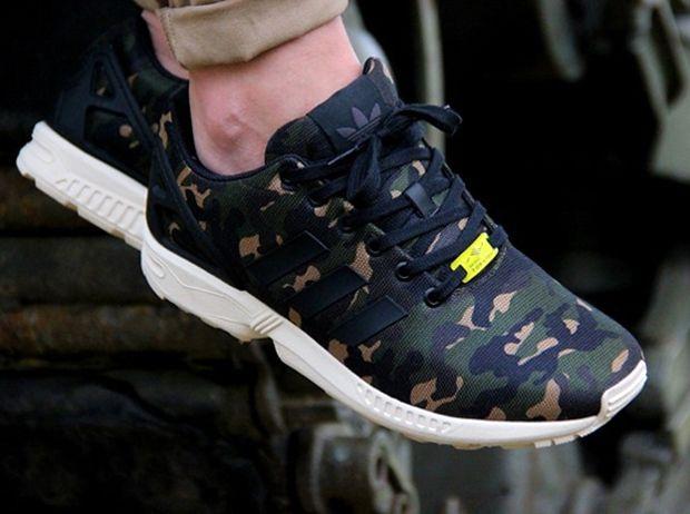 adidas zx flux militaire femme