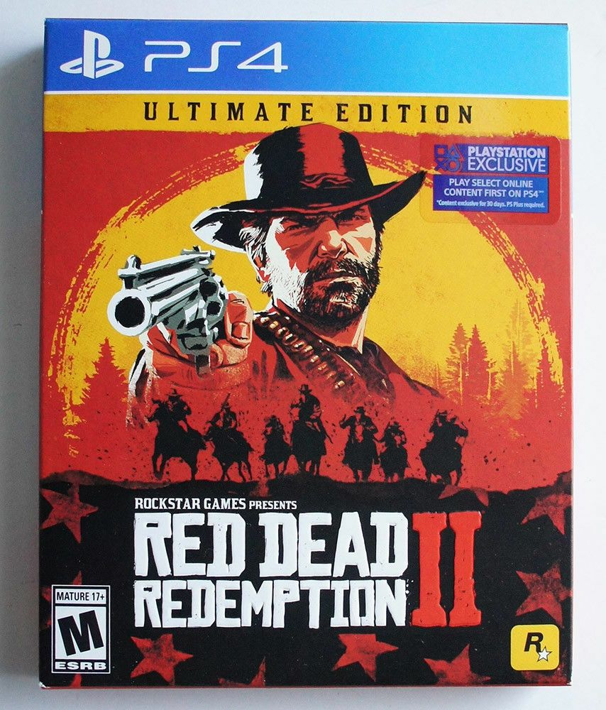 Red Dead Redemption 2 Ultimate Edition Ps4 Playstation 4 Rare Collector S Game Reddeadredemption Gaming Red Dead Redemption Ii Red Dead Redemption Xbox One