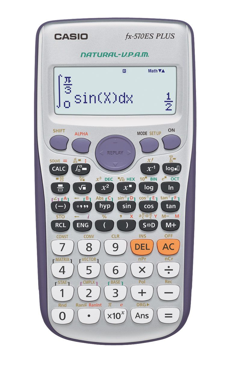 Sharp Calculators EL-W516TBSL Advanced Scientific Calculator with WriteView 4 Line Display /& Solar Power