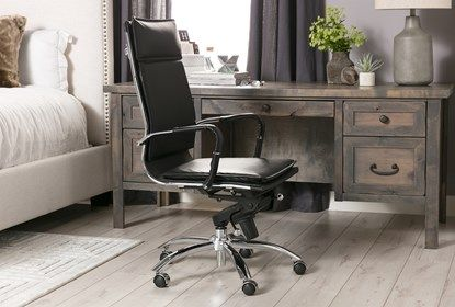 Best Ducar Executive Desk Brown 695 Desk Living Spaces 640 x 480