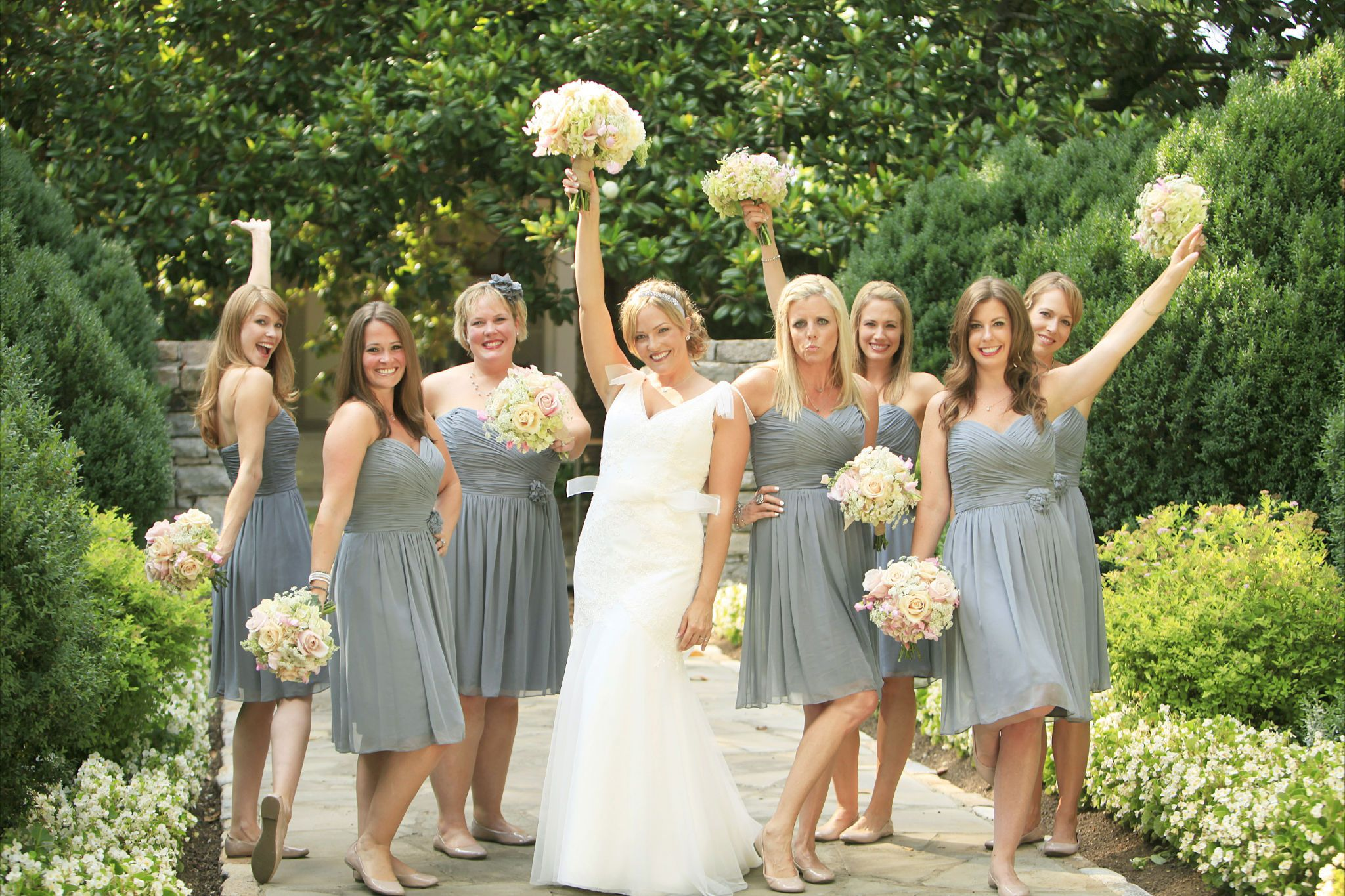 Grey bridesmaid dresses google search bridesmaids and grey bridesmaid dresses google search rustic wedding photosrustic country ombrellifo Images