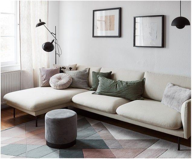 Divano con chaiselongue Moby nel 2020 Camera da letto