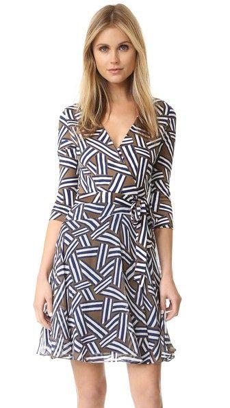 Diane von Furstenberg Irina Wrap Dress | SHOPBOP