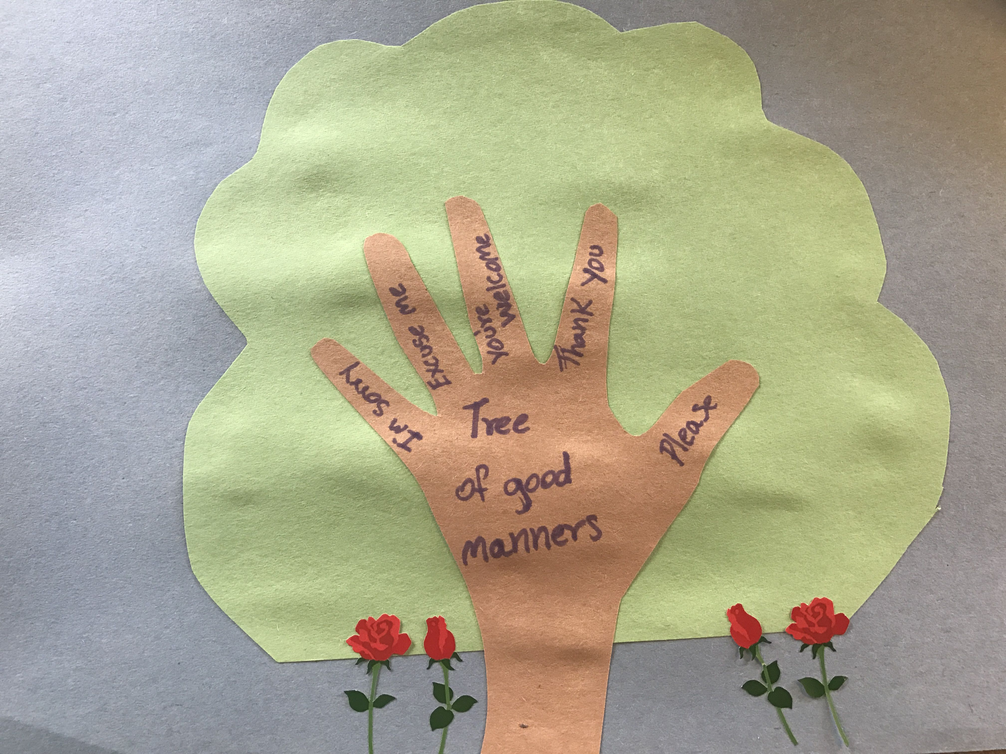 Tree Of Good Manners With Images