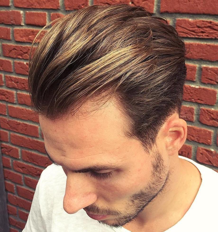 Long Top Taper For Receding Hairline Mens Hairstyles Medium Medium Hair Styles Long Hair Receding Hairline