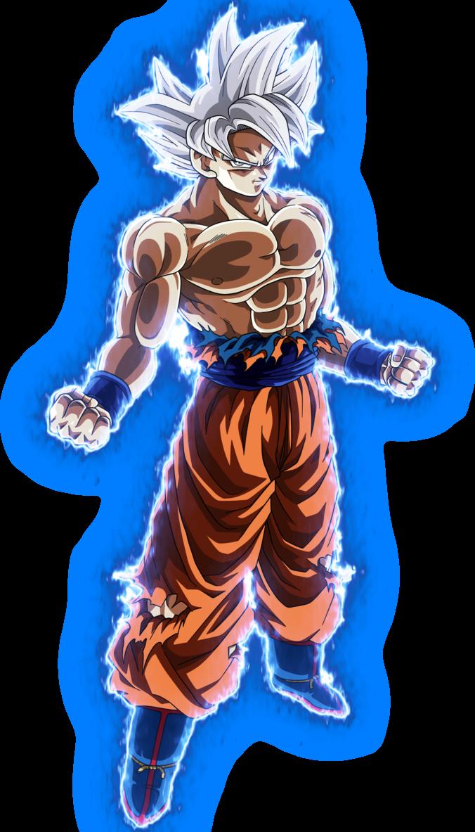 Goku Master Ui no background by blackflim.deviantart.com ...