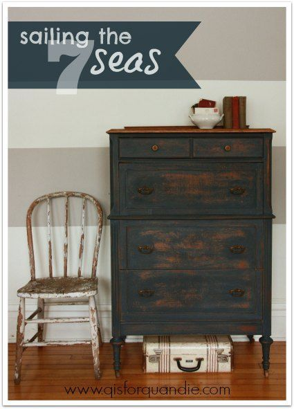 Milk Paint Furniture Makeover, Milk Paint Furniture Before And After
