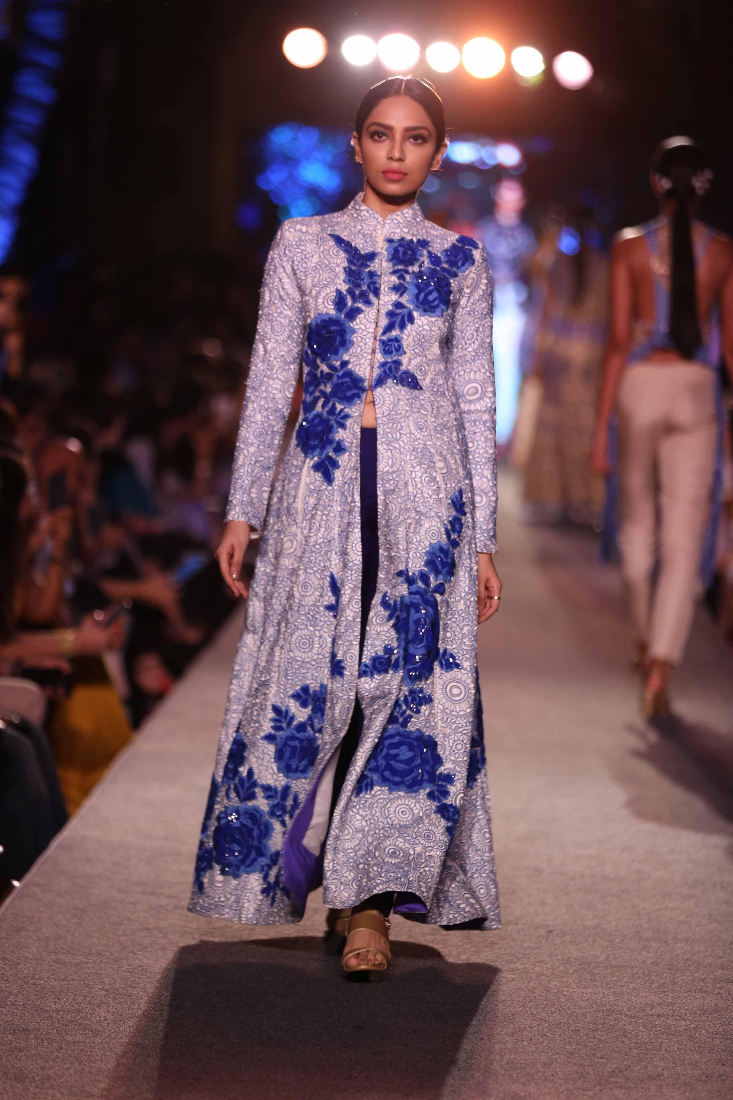 d43813c94bcd The Blue Fashion Runway Collection by Manish Malhotra at Lakme Fashion Week  Summer Resort 2015.  JabongLFW