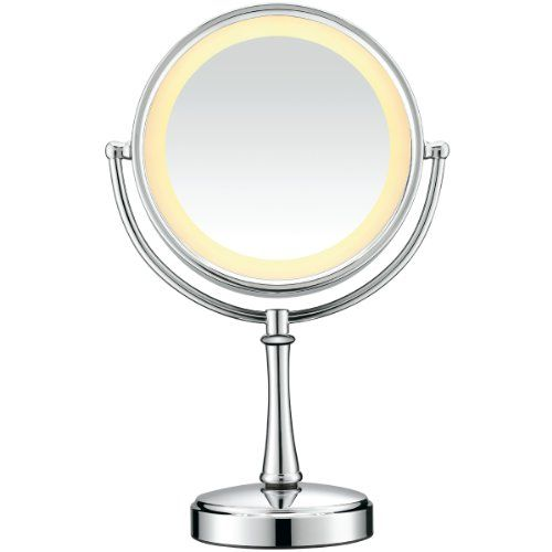Conair Be87cr Touch Control Lighted Round Mirror Polished Chrome