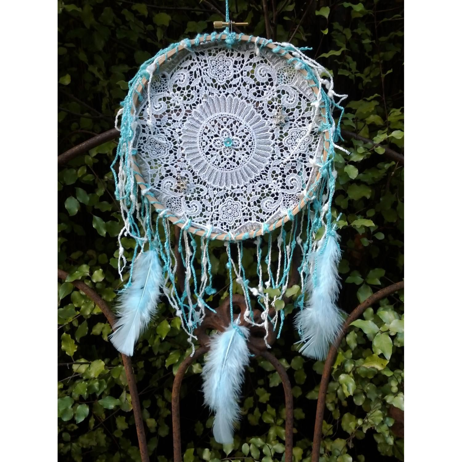 Dream Catcher Supplies Australia Vintage Doily Dreamcatcher Doilies Pinterest Dream catchers 11