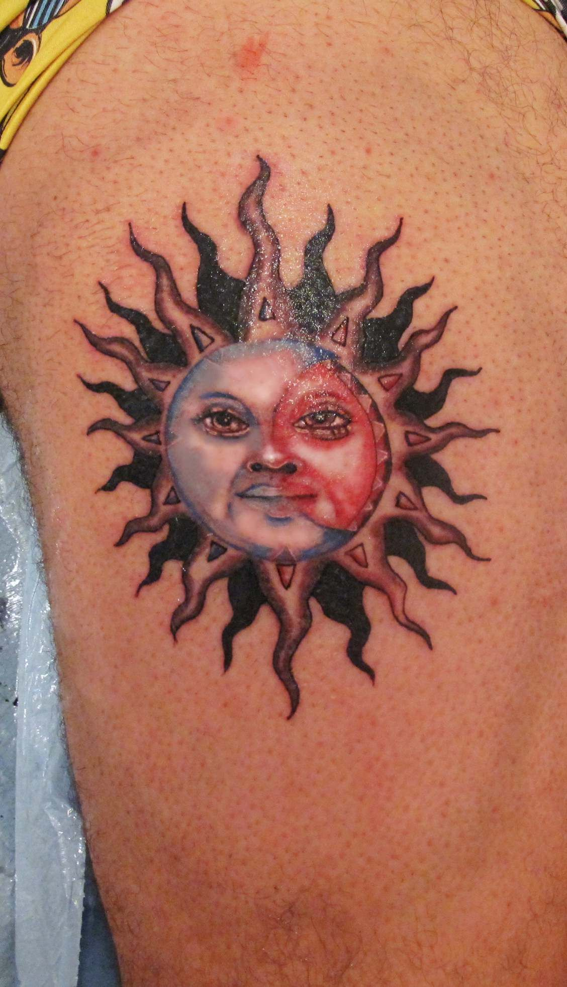 Inca S Sun Tatto Soleil Inca Tatouage Tatououou