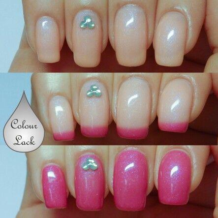 wavegel / wave gel mood polish  on the sand  wave nails