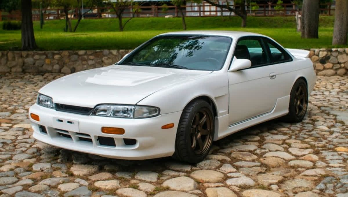 Here's a 1995 #Nissan 240SX for #ThrowbackThursday #TBT ...