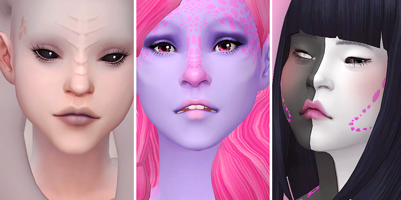 Alien Face details   The Sims Cc and Mods   The sims 4
