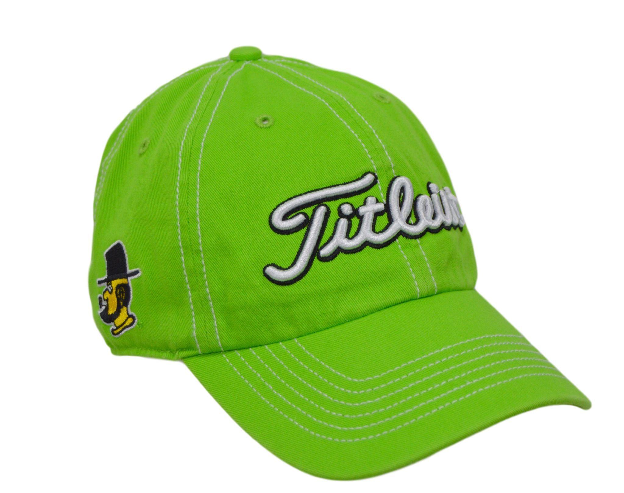 e8a3192195f7a Appalachian State Green Titleist Golf Hat - 3 logos | Golf Hat ...