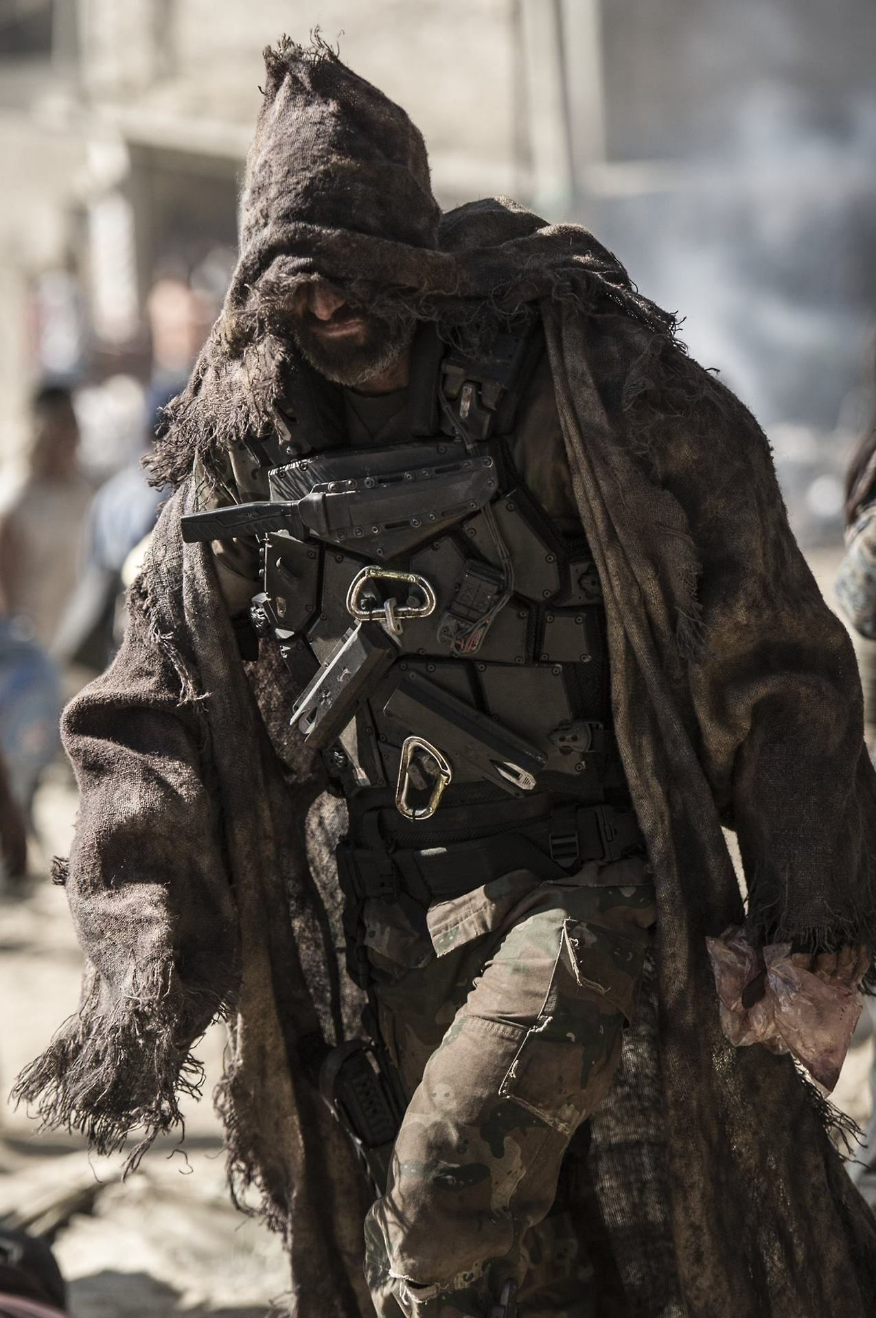 The \u201cElysium\u201d story: Part 8 Agent Kruger desert attire | Post ...